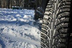 Tread wheels Stock Image