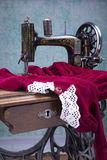 Treadle sewing machine Stock Photos