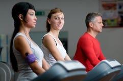 treadmill γυμναστικής Στοκ Φωτογραφία
