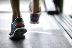 Treadmill ικανότητας Στοκ εικόνα με δικαίωμα ελεύθερης χρήσης