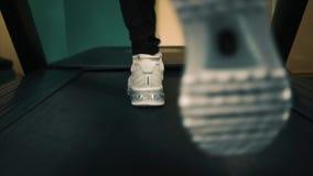 Treadmill καρδιο workout απόθεμα βίντεο