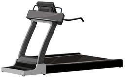 Treadmill μηχανή στο άσπρο υπόβαθρο Στοκ Φωτογραφία