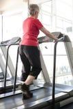 On the treadmill Royalty Free Stock Photos