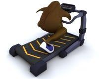 τρέχοντας treadmill Τουρκία Στοκ Εικόνες