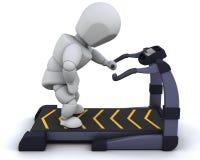 treadmill Arkivfoton