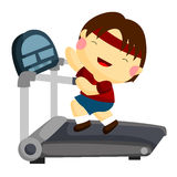 treadmill Foto de Stock