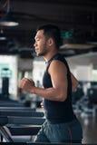 τρέχοντας treadmill Στοκ Φωτογραφία
