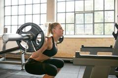 Γυναικών treadmill Στοκ φωτογραφία με δικαίωμα ελεύθερης χρήσης