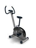 Treadmill. 3D treadmill on white background Royalty Free Stock Photo