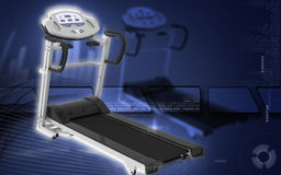 Treadmill Royalty Free Stock Photos