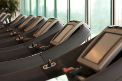 Treadmill equipment Royalty Free Stock Image