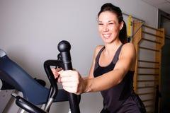 Treadmill exercise Royalty Free Stock Photos