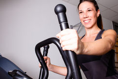 Treadmill exercise Royalty Free Stock Photography