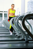 Treadmill exercise Stock Photos
