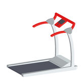 Treadmill Illustration Isolated On White Background Royalty Free Stock Images
