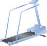 Treadmill isolated on white - vector Stock Photos
