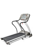 Treadmill machine for cardio workouts Royalty Free Stock Images