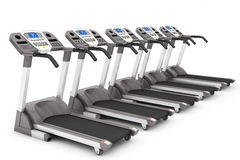 Treadmill Machines Stock Images
