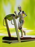 Treadmill. Royalty Free Stock Photo