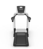 Treadmill on a white royalty free illustration