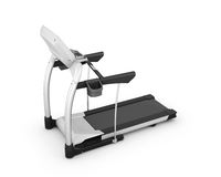 Treadmill on white background Royalty Free Stock Photos