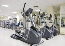 treadmills υγείας λεσχών Στοκ Εικόνες