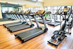 Treadmills Royalty Free Stock Photography