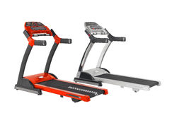 Treadmills the exercise tool Royalty Free Stock Photography