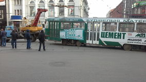 Treamway olycka Royaltyfri Fotografi