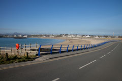 Trearddur bay beach. Royalty Free Stock Photo