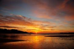 Trearddur Bay Sunset Stock Photography