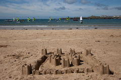 Trearddur Bay sailing Club Royalty Free Stock Photo