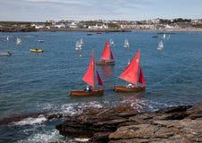 Trearddur Bay sailing Club Royalty Free Stock Photos