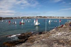 Trearddur Bay sailing Club Royalty Free Stock Image