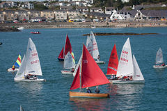 Trearddur Bay sailing Club Royalty Free Stock Photos