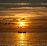 Trearddur Bay Sunset Stock Photos