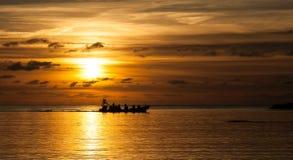 Trearddur Bay Sunset Stock Images