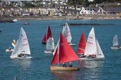 trearddur sailing клуба залива стоковые фотографии rf