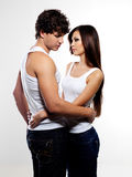 Treason of lovers Royalty Free Stock Photography