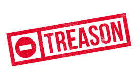 Treason rubber stamp Stock Image