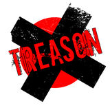 Treason rubber stamp Royalty Free Stock Images