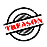 Treason rubber stamp Royalty Free Stock Photos