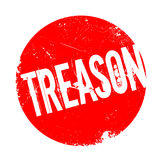 Treason rubber stamp Royalty Free Stock Photography