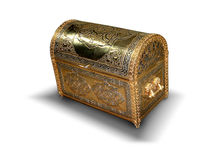 Treasure. Box stock photo