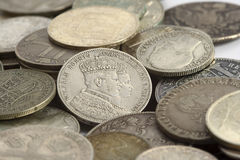 Treasure ancient coins Royalty Free Stock Photography