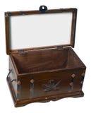 Treasure Box-Clipping Path Stock Image