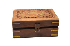 Treasure Box Closed Royalty Free Stock Photography