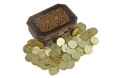 Treasure box royalty free stock photos