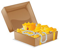 A treasure box Royalty Free Stock Image