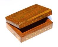 Treasure box chest isolated Stock Photos